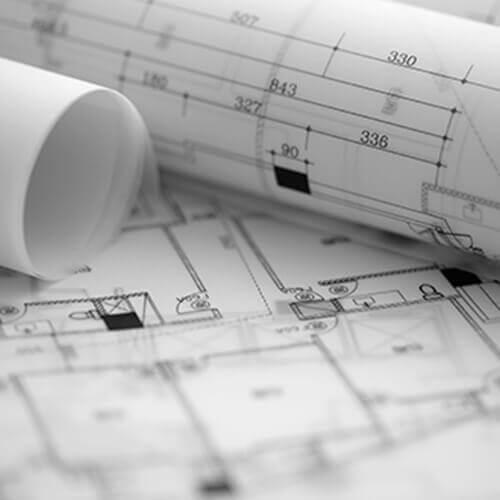 Architectural blueprints and blueprint rolls